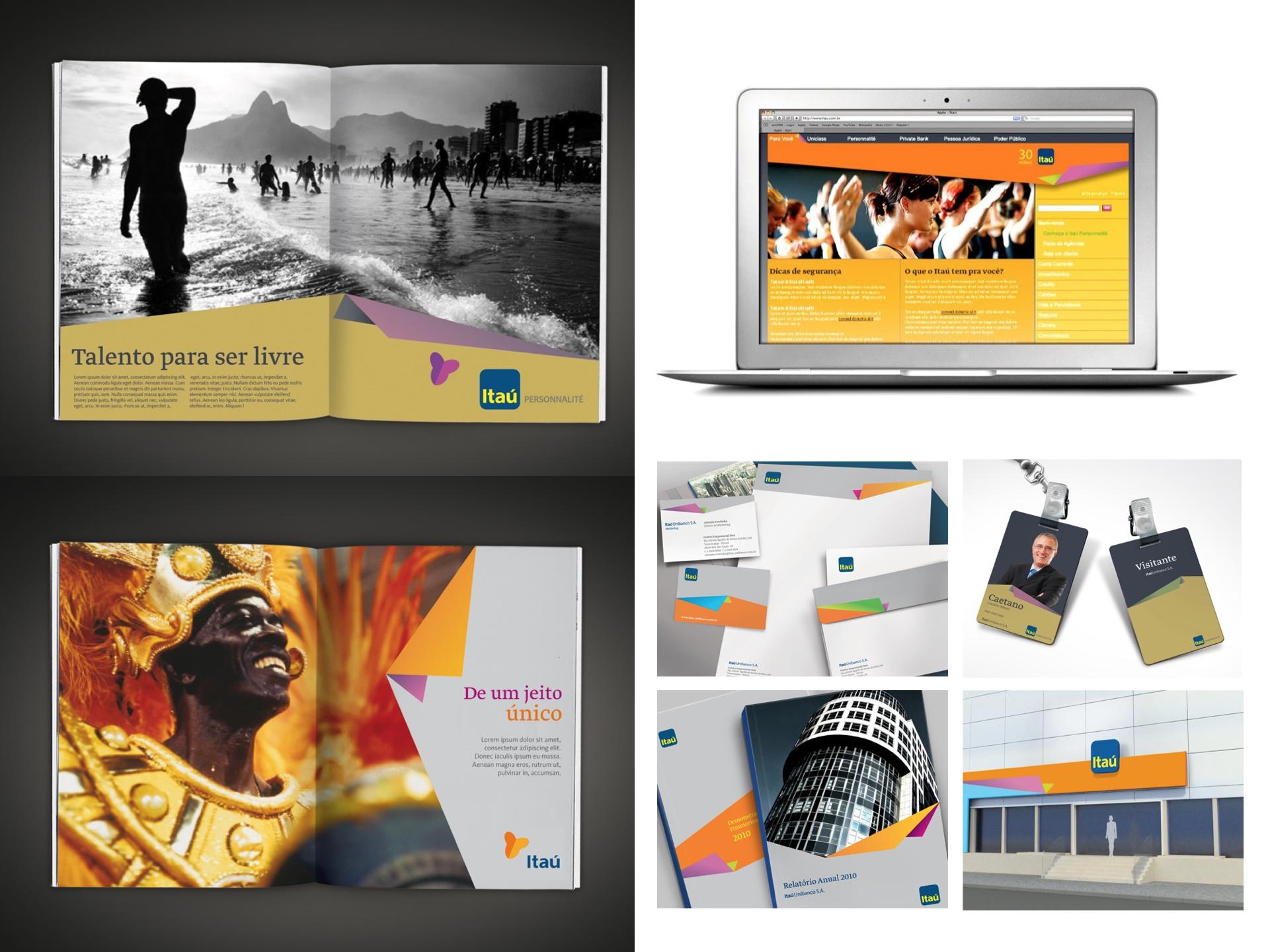 ITAU / Re-Branding Concept